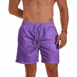 Short Praia Masculino Lilás Use Thuco - SH1117 - Use Thuco