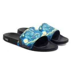 Chinelo Slide Unissex Van Gogh Azul Use Thuco - CH... - Use Thuco