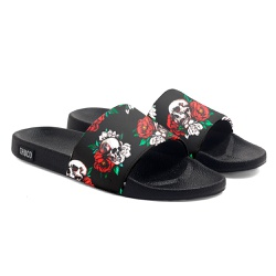 Chinelo Slide Unissex Caveira Flor Use Thuco - CH0... - Use Thuco