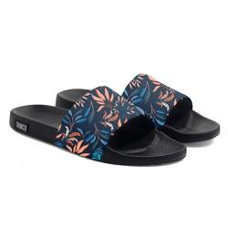 Chinelo Slide Unissex Estampado Floral Verão Azul ... - Use Thuco