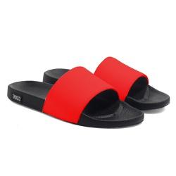 Chinelo Slide Unissex Liso Vermelho Vermelho - CH1... - Use Thuco
