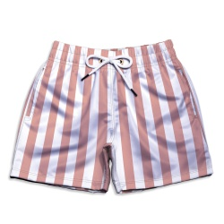 Short Praia Infantil Listras Nude Use Thuco - IN09... - Use Thuco