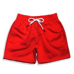 Short Praia Infantil Vermelho Use Thuco - IN1053 - Use Thuco