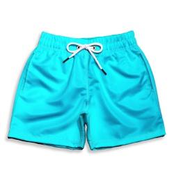 Short Praia Infantil Azul Piscina Use Thuco - IN10... - Use Thuco