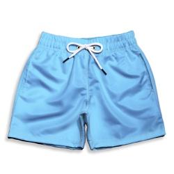 Short Praia Infantil Azul Claro Use Thuco - IN1120 - Use Thuco