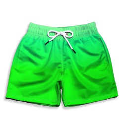 Short Praia Infantil Verde Neon Use Thuco - IN1129 - Use Thuco