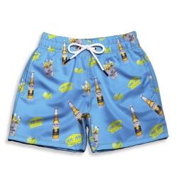 Short Praia Infantil Cerveja e Limão Use Thuco - ... - Use Thuco