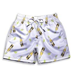Short Praia Infantil Cerveja e Limão White Use Thu... - Use Thuco