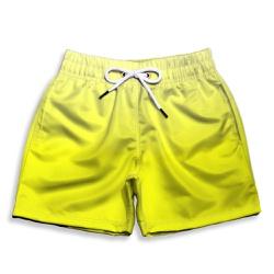 Short Praia Infantil Degrade Amarelo Use Thuco - I... - Use Thuco