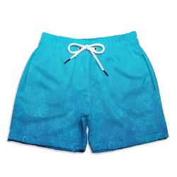Short Praia Infantil Deep Sea Use Thuco Azul - IN1... - Use Thuco