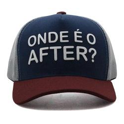 Boné Aba Curva Use Thuco Onde é o after - Vinho Az... - Use Thuco