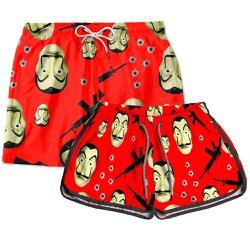 Kit Shorts Casal Masculino e Feminino Série Use Th...