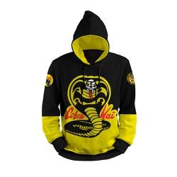 Moletom Cobra Kai Full Print 3D com Capuz Unissex ... - Use Thuco