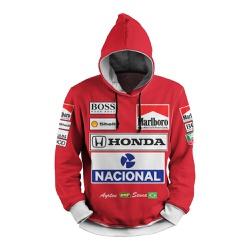 Moletom Formula 1 Retro Full Print 3d com Capuz Un... - Use Thuco