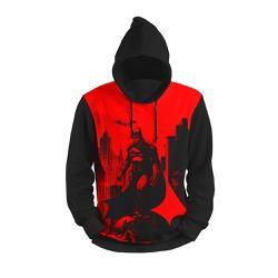 Moletom Morcego Vermelho Full Print 3d com Capuz U... - Use Thuco