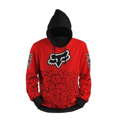 Moletom Fox Trilha Motocross Full Print 3d com Cap... - Use Thuco