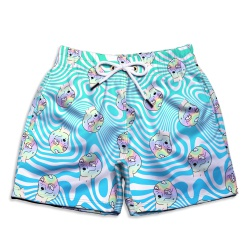 Short Praia Infantil Aliens Force Use Thuco - IN1... - Use Thuco