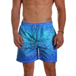 Short Praia Masculino Tentáculos Degrade Azul Use ... - Use Thuco