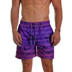 Short Praia Masculino Leave Stripes Roxo Use Thuco... - Use Thuco
