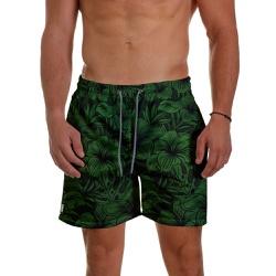 Short Praia Masculino Floral Hawai Use Thuco - SH1... - Use Thuco