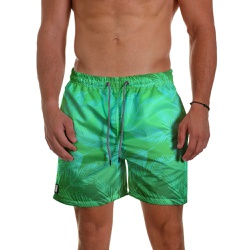 Short Praia Masculino Folhas Verde Degrade Use Thu... - Use Thuco