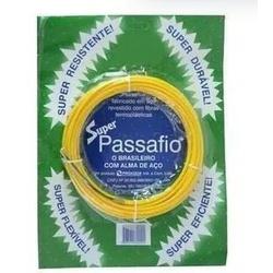 FITA PASSA FIO COM ALMA DE ACO 15 METROS BRASILEIR... - VIA BRASIL CASA & CONSTRUÇÃO