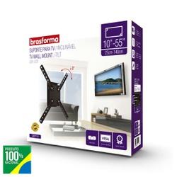 SUPORTE INCLIVANEL PARA TV LCD 10 ATE 55 SBRP110-B... - VIA BRASIL CASA & CONSTRUÇÃO