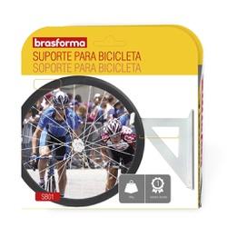 SUPORTE BRANCO PARA BICICLETA SB01-BRASFORMA - 069... - VIA BRASIL CASA & CONSTRUÇÃO