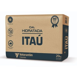 CAL HIDRATADA CH-III 20KG-ITAU VOTORANTIM - 09523 - VIA BRASIL CASA & CONSTRUÇÃO