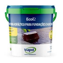 EMULSAO ASFALTICA ECOL 2 BALDE 3,6 LITROS-VIAPOL -... - VIA BRASIL CASA & CONSTRUÇÃO