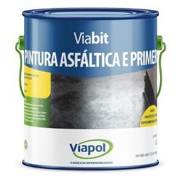 PINTURA ASFALTICA E PRIMER VIABIT GALAO 3,6 LITROS... - VIA BRASIL CASA & CONSTRUÇÃO
