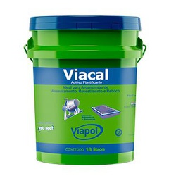 VIACAL ADITIVO PLASTIFICANTE BALDE 18 LITROS-VIAPO... - VIA BRASIL CASA & CONSTRUÇÃO