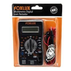 MULTIMETRO DIGITAL 30.03 COM TESTADOR REDE-FOXLUX ... - VIA BRASIL CASA & CONSTRUÇÃO