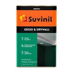 TINTA DIRETO SOBRE GESSO DRYWALL 18L 50508912-SUVI... - VIA BRASIL CASA & CONSTRUÇÃO
