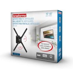 SUPORTE ARTICUADO PARA TV LCD 10 A 55 MONTADO SBRP... - VIA BRASIL CASA & CONSTRUÇÃO