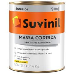 MASSA CORRIDA PVA 1,4KG 900ML 54014617-SUVINIL - ... - VIA BRASIL CASA & CONSTRUÇÃO