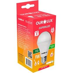 LAMPADA LED BULBO 09W BIVOLT 6500K BRANCO FRIO-OUR... - VIA BRASIL CASA & CONSTRUÇÃO