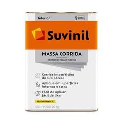MASSA CORRIDA PVA 25KG 14,8L LATA 50687535-SUVINIL... - VIA BRASIL CASA & CONSTRUÇÃO