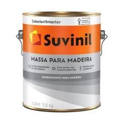 MASSA PARA MADEIRA BASE AGUA 5,5KG 53446775-SUVINI... - VIA BRASIL CASA & CONSTRUÇÃO