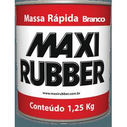 MAXI MASSA RAPIDA BRANCA 1,25 KILO-MAXI RUBBER - 1... - VIA BRASIL CASA & CONSTRUÇÃO