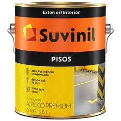 TINTA ACRILICA PREMIUN PARA CIMENTO E PISO VERMELH... - VIA BRASIL CASA & CONSTRUÇÃO