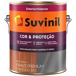 TINTA ESMALTE SINTETICO BRILHANTE COR E PROTECAO L... - VIA BRASIL CASA & CONSTRUÇÃO