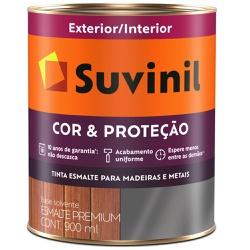 TINTA ESMALTE SINTETICO BRILHANTE COR E PROTECAO G... - VIA BRASIL CASA & CONSTRUÇÃO
