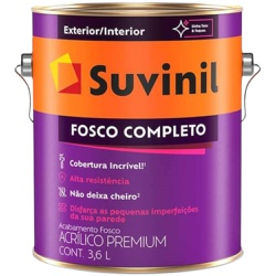 TINTA ACRILICA FOSCO COMPLETO AREIA 3,6L 53399128-... - VIA BRASIL CASA & CONSTRUÇÃO