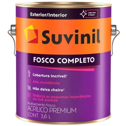 TINTA ACRILICA FOSCO COMPLETO SAFARI 3,6L 50564427... - VIA BRASIL CASA & CONSTRUÇÃO