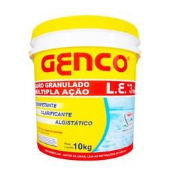 CLORO GRANULADO MULTIPLA ACAO L.E. 3X1 PARA PISCIN... - VIA BRASIL CASA & CONSTRUÇÃO