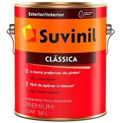 TINTA LATEX PVA CLASSICA BRANCO NEVE 3,6L 53362399... - VIA BRASIL CASA & CONSTRUÇÃO
