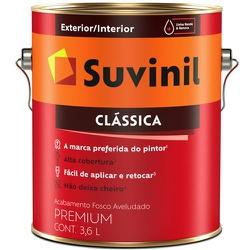 TINTA LATEX PVA CLASSICA GELO 3,6L 53363459-SUVINI... - VIA BRASIL CASA & CONSTRUÇÃO