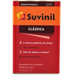 TINTA LATEX PVA CLASSICA AREIA 18L 53362770-SUVINI... - VIA BRASIL CASA & CONSTRUÇÃO