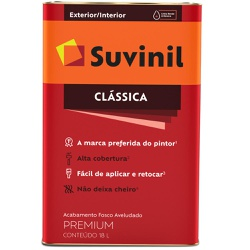 TINTA LATEX PVA CLASSICA CAMURCA 18L 53365261-SUVI... - VIA BRASIL CASA & CONSTRUÇÃO
